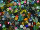 1 4 lb Mixed Color Glass Crystal Store Handmade Lampwork Beads lot