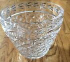 Decorative Lead Cut Crystal Glass 6 inches flower pot