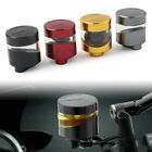 CNC Front Brake Clutch Tank Cylinder Fluid Oil Reservoir Cup Fit Motorcycle