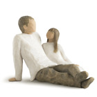 Willow Tree Father and Daughter 26031 Angels Figurines by Demdaco