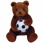 TY Beanie Baby - SWEEPER the Soccer Bear (5 inch) - MWMTs Stuffed Animal Toy