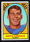 1967 Topps Football Cards 13