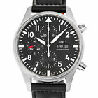 IWC 3777 Pilot Chronograph IW377709 Swiss Automatic Stainless Steel Box Papers