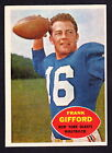 Frank Gifford Cards, Rookie Cards and Autographed Memorabilia Guide 6
