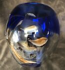Hand Blown Simulated Fish Tank Bowl With Fish 5x34