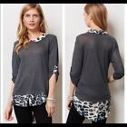 NWT Anthropologie Twig  Perch Linen Top size XS