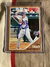 2011 Topps Heritage Minors Mike Trout signed Auto - LA Angels RC Very Rare 🔥🔥