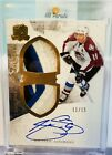 Joe Sakic Auto Patch # 11 15 2010-11 UD The Cup Signature Emblems Of Endorsement