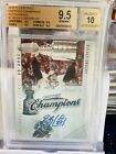 Sidney Crosby BGS 9.5 10 AUTO 2010 Panini Certified Champions Autographs 10 💎