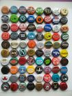 Nice Lot of 80 Different Used Beer Bottle Caps Microbrews Included Lot C