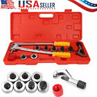 7 Head Manual Pipe Flaring Expander Tool Hydraulic Copper Heads Tube Swaging
