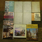 11 Old Architecture Book Frank Lloyd Wright Le Corbusier Gaudi Mies van der Rohe
