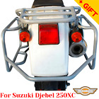 For Suzuki Djebel 250 Side carrier 250 XC Pannier rack for cases or bags, Bonus