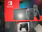 SHIPS TODAY BUNDLE Newest Nintendo Switch With Grey Joy cons
