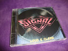 SIGNAL cd LOUD & CLEAR mark marcie free king kobra free US shipping