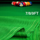 28 Oz Worsted Pool Table Cloth 7 8 9ft Table Fast Billiard Felt w PRE CUT RAILS