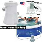 Electric Swimming Pool Filter Pump For Above Ground Pools Cleaning Tool Set