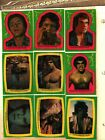 1979 Topps Incredible Hulk Trading Cards 9