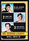 1972-73 O-Pee-Chee Hockey Cards 10