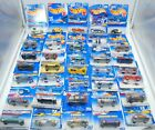 HOT WHEELS Huge Lot of 36 Hot Wheels Die Cast Cars New on Card