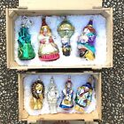 Complete Set Two Crates Boxes Polonaise Wizard Of Oz Blown Glass Ornaments