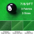 Worsted Fast Speed Pool Table Felt Billiard Cloth for 7 8 9 Foot Table w Strips
