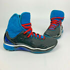 Under Armour Highlight High Cam Newton C1N Micro G Sneakers Youth size 7Y Blue