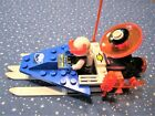 Lego 6834 Celestial Sled   1711 Ice Planet Scooter Complete w Instr
