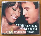 Whitney Houston & Enrique Iglesias COULD I HAVE THIS KISS FOREVER 6-Trk Remix CD