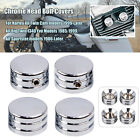 Motor Chrome Head Bolts Covers Spark Plug Side Case For Harley Big Twin 1340 USA