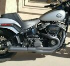 Bassani Road Rage 3 Megaphone 2 Into 1 Black Exhaust Pipe 18+ Harley Softail M8