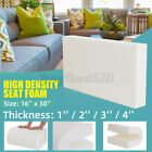 High Density Seat Foam Rubber Cushion Replacement Upholstery Firm Pad US e
