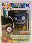 Funko Pop Plants Vs Zombies GW 2 Super Brainz Target Exclusive w Protector