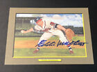 1988 Perez Steele Greatest Moments Signed Eddie Mathews Autographed Card