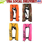 Adult Automatic Inflation Life Jacket Vest Manual Inflatable 150N PFD Survival