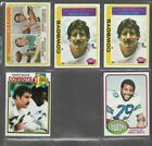 Top 20 Budget 1970s Football Hall of Fame Rookie Cards 28