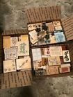 Wooden Craft Stamps Scrapbook Cards 5 Pound Mystery Stamp Boxes You Pick