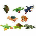 TY Beanie Babies - REPTILES & AMPHIBIANS (Set of 8)(Ally, Legs, Lizzy, Prince++)