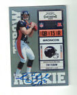 Panini Confirms 2010 Playoff Contenders Tim Tebow Inscription Variations 14