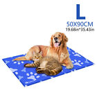 Gel Cooling Mat for Dog Cat Pet Self cooling Cushion Pad Hot SUMMER Bed LARGE US