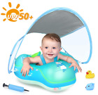 New Baby Swimming Float Pool Inflatable Ring Newest with Sun Protection Canopy