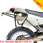 For Suzuki Djebel 250 Side carrier 250 XC Pannier rack for soft bags, Bonus