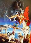 NEW GATHERING WOLF NATIVE VISIONS 1000 Piece JIGSAW PUZZLE Southwest Art