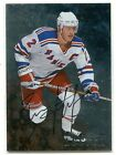 1998-99 ITG BAP Be A Player Brian Leetch On Card AUTO AUTOGRAPH NEW YORK RANGERS
