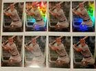 Investors lot of 8 Mike Trout 2012 Bowman Platinum #16 2nd yr card!! Goat! Hot!!