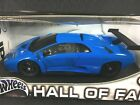Hot Wheels Lamborghini Diablo GTR 118 Die Cast Blue Hall of Fame Model Car