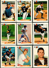 1992 Bowman 186 Card Lot with 28 Duplicates Over 22 of set NM MINT+
