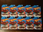 Hot Wheels 2020 Custom Otto Red Edition Target Exclusive 8 12 Lot of 10 NEW