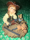 Boyds Cowgirl Calamity with Little Bear Yesterdays Child Dollstone #3561