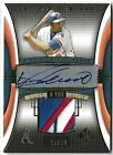 VLADIMIR GUERRERO 2004 UPPER DECK SP GAME USED AUTO AUTOGRAPH PATCH CARD #35 50!